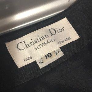 Christian Dior ladies Wool jacket size 10